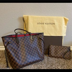 Louis Vuitton Neverfull MM with pochette